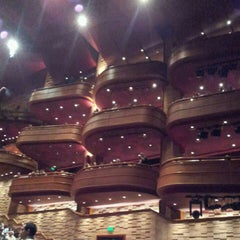 Photo taken at Teatro Bradesco by Ana Claudia G. on 11/21/2012