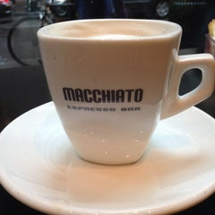 Photo taken at Macchiato Espresso Bar by Sophia K. on 6/7/2013