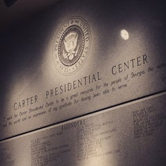 Photo taken at Jimmy Carter Presidential Library & Museum by Wilson T. on 2/20/2015