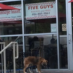Photo taken at Five Guys by Wilson T. on 7/25/2015