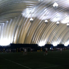 Photo taken at Sports Dome by Naomi T. on 1/5/2013