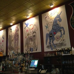 Photo taken at Busboys and Poets by Melanie M. on 1/21/2013