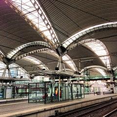 Photo taken at Station Leuven by Stijn O. on 12/29/2012