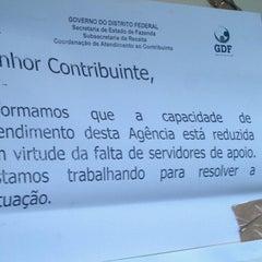 Photo taken at Secretaria de Estado de Fazenda do Distrito Federal (SEFAZ) by Georgios K. on 5/10/2013