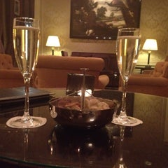 Photo taken at Grand Hotel Casselbergh by Lisa K. on 2/17/2015