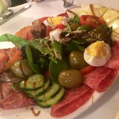 Photo taken at Trattoria di Monica by Jillian on 9/1/2014