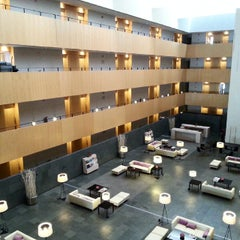 Photo taken at Hotel Tryp Barcelona Aeroport by Giuseppe S. on 12/13/2014