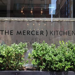 Photo taken at Mercer Kitchen by dot. h. on 7/21/2013