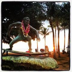 Photo taken at Waikiki Beach Walls by Jake D. on 10/29/2012