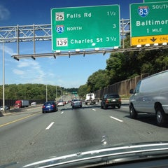 Photo taken at I-695 / I-83 / MD 25 interchange by Donte 💫✨✨✨✨ on 9/20/2012
