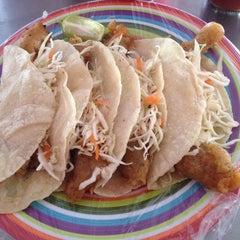 Photo taken at Marisma Fish Taco - Vallarta Centro by Omar M. on 1/29/2015