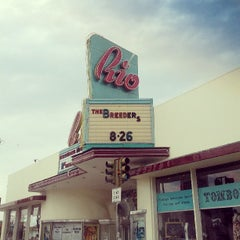 Photo taken at Rio Theatre by Samantha H. on 7/22/2013
