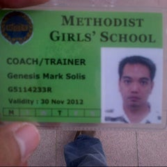 Photo taken at Methodist Girls School by GMark S. on 10/15/2012