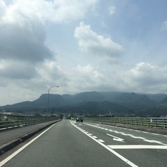 Photo taken at メルヘン大橋 by 54 on 8/14/2015