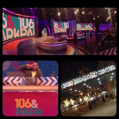 Photo taken at 106 & Park Studio by Lou The Chef on 11/20/2013