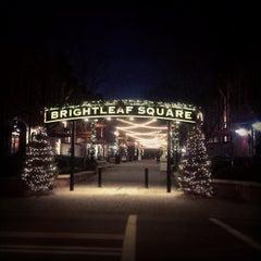 Photo taken at Brightleaf Square by Pamela O. on 12/13/2012