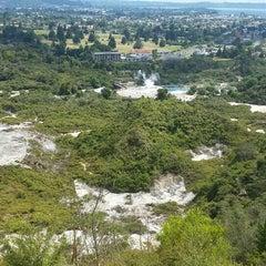 Photo taken at Rotorua by Martins K. on 2/2/2016