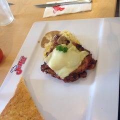 Photo taken at Jeffer Steak (เจฟเฟอร์) by Pattarakan P. on 6/29/2015