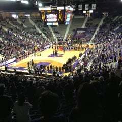 Photo taken at Bramlage Coliseum by Rob R. on 11/18/2012