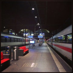 Photo taken at Basel SBB Railway Station (ZDH) by Thomas P. on 7/5/2013
