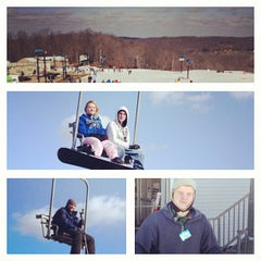 Photo taken at Paoli Peaks - Ski, Ride, Tube by Daniel E. on 2/11/2013