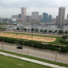 Photo taken at Federal Hill Park by Michael M. on 6/30/2013