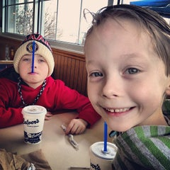 Photo taken at Culver's by Marcus M. on 1/27/2013