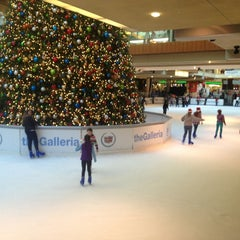 Photo taken at Ice at the Galleria by Lisa on 12/21/2012