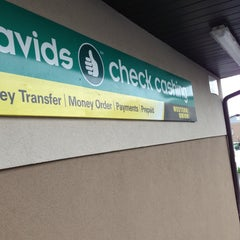 Photo taken at Davids Check Cashing by Matthew C. on 5/11/2013