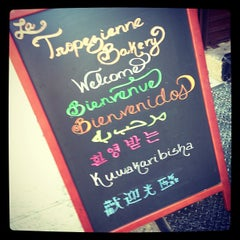 Photo taken at La Tropezienne Bakery by Durinda U. on 1/5/2013