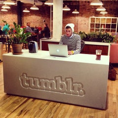 Photo taken at Tumblr HQ by Freddy R. on 3/21/2013