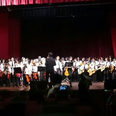 Photo taken at Teatro Municipal de San Lorenzo by Sergio R. on 11/16/2015