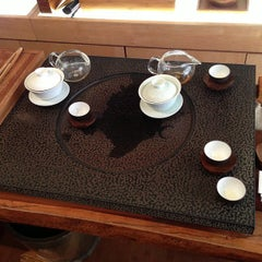 Photo taken at Red Blossom Tea Company by Griffin K. on 3/2/2013