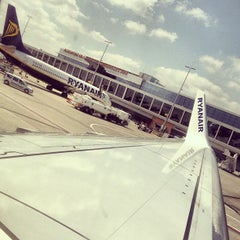 Photo taken at Brussels South Charleroi Airport (CRL) by Branko Š. on 6/4/2013