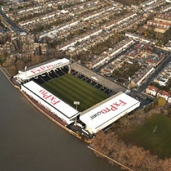 Photo taken at Craven Cottage by Dave on 2/23/2013
