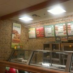 Photo taken at Subway by Omair K. on 11/21/2012