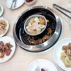 Photo taken at Seoul Garden by MH on 12/17/2014