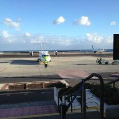 Photo taken at Terminal 2 Aeropuerto de Lanzarote (ACE) by María L. on 12/26/2012