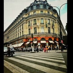 Photo taken at InterContinental Paris Le Grand Hôtel by Peter B. on 6/11/2013