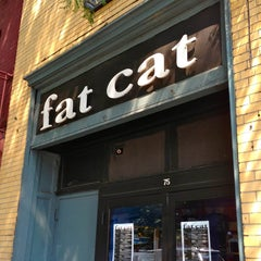 Photo taken at Fat Cat by The Corcoran Group on 7/22/2013