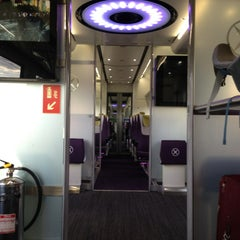Photo taken at Heathrow Express Train - Paddington [PAD] to Heathrow [HXX] by Mikel M. on 6/1/2013