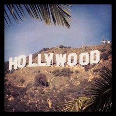 Photo taken at Hollywood Sign by Arminda K. on 1/22/2013