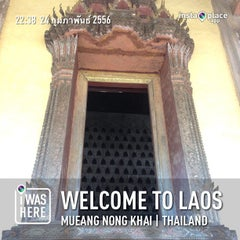 Photo taken at Welcome To Laos by Way T. on 2/24/2013
