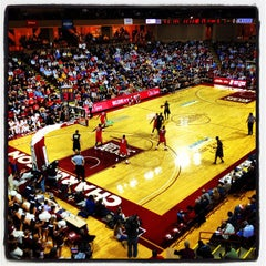 Photo taken at TD Arena, College of Charleston by Nicholas C. on 11/15/2012