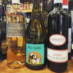 Photo taken at Wagshal's Deli by Andrew Vino50 Wines on 8/7/2015