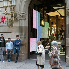 Photo taken at H&M by Tigra S. on 4/26/2013