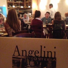 Photo taken at Angelini Osteria by Fred G. on 5/3/2013