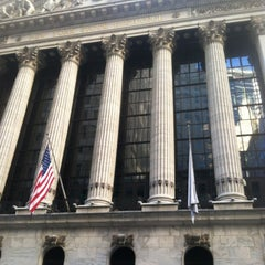 Photo taken at New York Stock Exchange by Solid G. on 2/18/2013