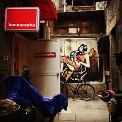 Photo taken at Lomography Gallery Store Shanghai by Rach L. on 3/15/2015