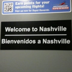 Photo taken at Nashville International Airport (BNA) by Hector A P. on 12/19/2012